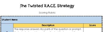 The Twisted R.A.C.E. Strategy