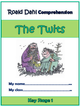 The Twits Comprehension Activities Booklet! (for Grades K-3)