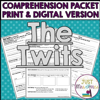 The Twits Comprehension Packet