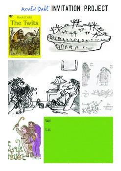 The Twits Invitation Project Roald Dahl