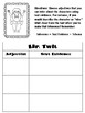The Twits Novel Activities and Text Dependent Questions