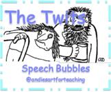 The Twits Roald Dahl Writing Activity: Character Speech Bubbles