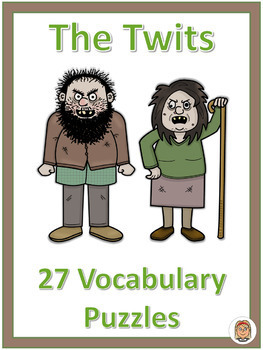 The Twits - Vocabulary Puzzles