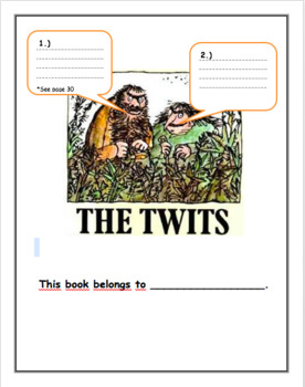 The Twits Workbook