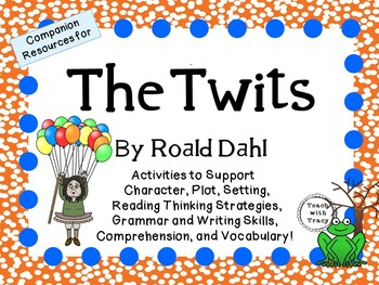 Roald dahl teaching resources teachers pay teachers the twits by roald dahl a complete novel study fandeluxe Image collections