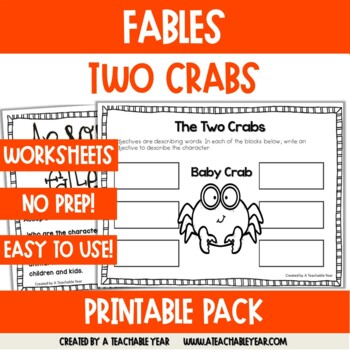 The Two Crabs- Fable