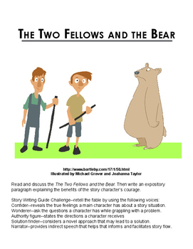 The Two Fellows and the Bear
