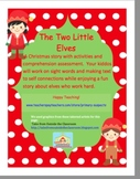 The Two Little Elves a holiday story with activities and a