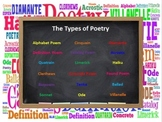 The Types of Poetry PowerPoint & Organizers