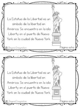 The U.S.A. Country Booklet Country Study Project Unit Español (Spanish) Edition