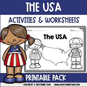 The USA- Vocabulary Pack