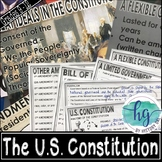 The U.S. Constitution PowerPoint and Guided Notes (Print a