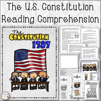 The U.S. Constitution Reading Comprehension Bundle