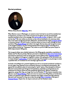 The U.S. Presidents: Top 10 Most Important Events Rankings: #9 William  Harrison