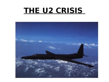 The U2 Crisis - The Cold War