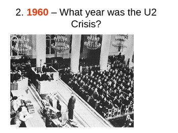 The U2 Crsis Quiz and History - The Cold War