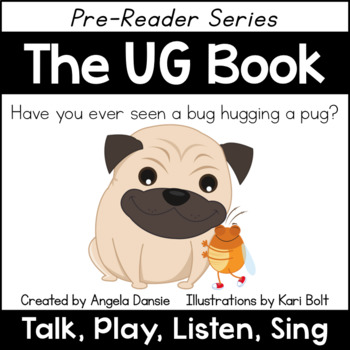 The UG Book and Games (Word Family Pre-Reader Series)
