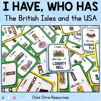 I Have Who Has Game - The UK and the USA Symbols