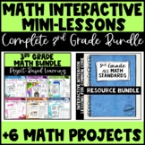 The ULTIMATE 3rd Grade Common Core Math Bundle - Interacti