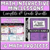 The ULTIMATE 4th Grade Common Core Math Bundle - Interacti