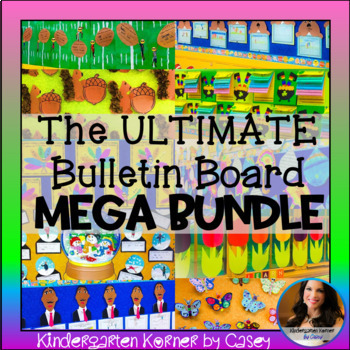 The ULTIMATE Bulletin Board MEGA Bundle 20 sets Writing Craft ENTIRE YEAR