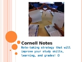 The ULTIMATE Cornell Notes PowerPoint - for AVID or Any Co