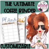 The ULTIMATE Customizable Coffee Binder