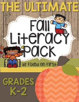 The ULTIMATE Fall Literacy Pack