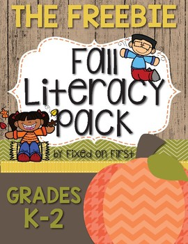 The ULTIMATE Fall Literacy Pack *FREEBIE*