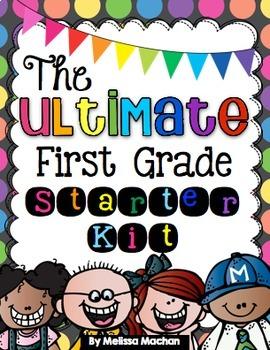 The ULTIMATE First Grade Starter Kit