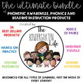 The ULTIMATE! Literacy Bundle for Kindergarten