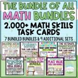 The ULTIMATE Math Task Card Bundle