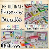 The ULTIMATE Phonics Intervention Bundle - 3 Pack