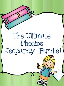 The ULTIMATE Phonics Jeopardy Bundle!! {91 games}