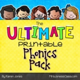 The ULTIMATE Printable Phonics Pack {Kindergarten Packet}