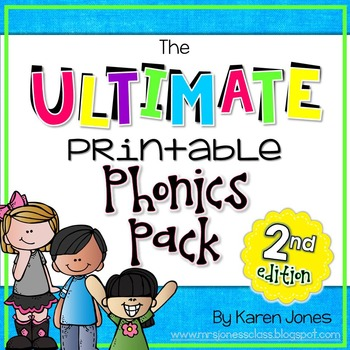 The ULTIMATE Printable Phonics Pack {2nd Edition}