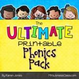 The ULTIMATE Printable Phonics Pack {Kindergarten Packet}