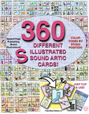 The ULTIMATE SET of 360 DIFFERENT /S/ SOUND ARTIC CARDS! 40 PAGES!