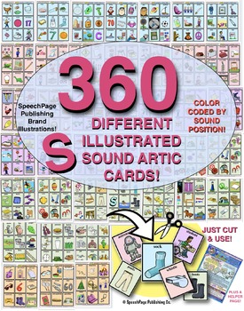 The ULTIMATE SET of 360 DIFFERENT /S/ SOUND ARTIC CARDS! 4