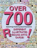 The ULTIMATE SET of OVER 700 DIFFERENT /R/ (& Vocalic R) ARTIC CARDS! 79 PAGES!