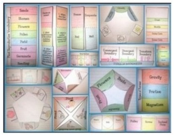 Science Interactive Notebook Templates  {203 Flip Books}