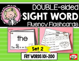 The ULTIMATE Sight Word Flashcards & Assessment System, SET 2