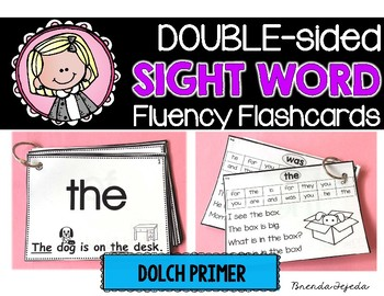 The ULTIMATE Sight Word Flashcards: DOLCH Primer