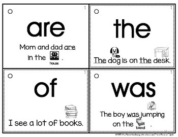 The ULTIMATE Sight Word Flashcards & Assessment System, Set 1