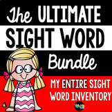 Sight Words Bundle- A Year-long Program!