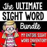 Sight Words Bundle- A Year-long Program!