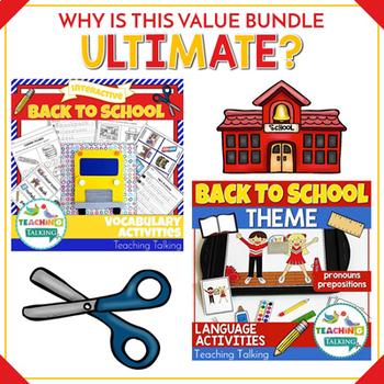 The ULTIMATE Speech Therapy Bundle for Back to School