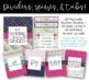 Editable Teacher Binder: Sweet Sophistication Theme {FREE UPDATES}