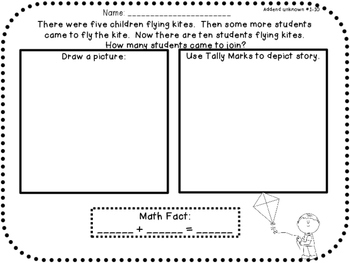 The ULTIMATE Word Problem Pack 1st grade Edition {{Set 1&2}}