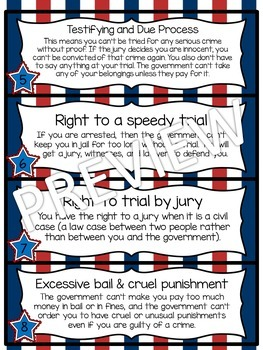 The U.S. Constitution: Mini-Book & Printables